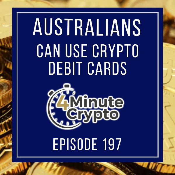 Australians Can Use Crypto Debit Cards