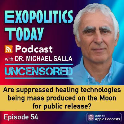 9+ Are suppressed healing technologies being mass produced on the Moon for public release?