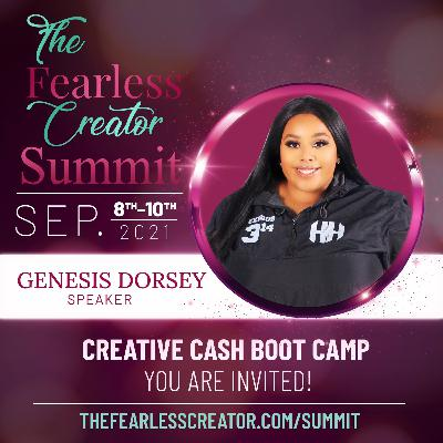 From Creative Squirrel to Creative Cash and Profitability with Featured Summit Speaker Genesis Dorsey
