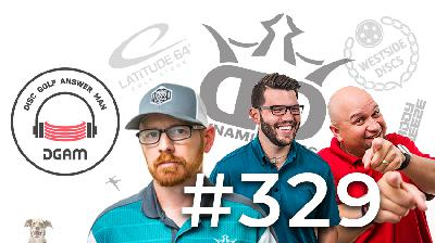 Beat in discs, Premium Plastic Judge, Bag Tags, and More on Disc Golf Answer Man Ep 329!
