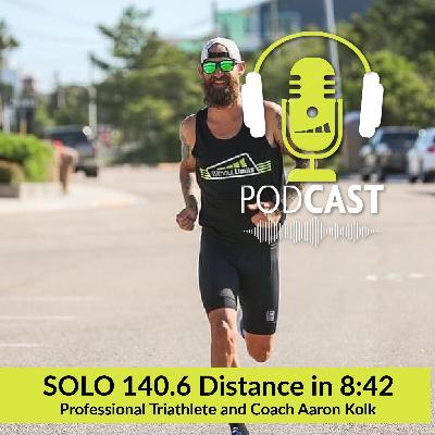 Aaron Kolk's Solo 140.6 Effort in 8:42