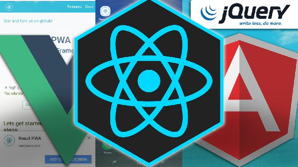 #4 - Tag #04 - React, Vue, PWAs e Front end