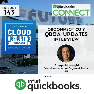 What's new for QBOA and ProAdvisors 🎙 Live at QuickBooks Connect