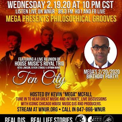 """BYRON STINGILY and friends with Kevin """"Mega"""" McFall on Vintage House Feb 2020"""