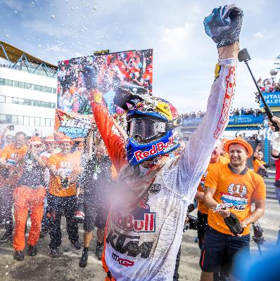 Jeffrey Herlings: The crash that almost left him paralysed