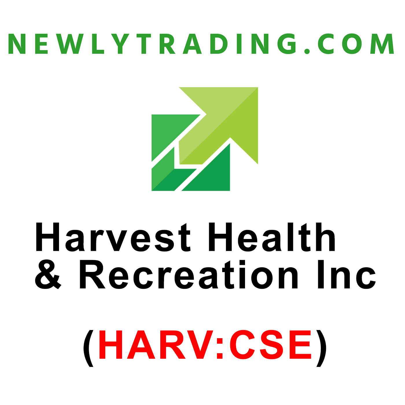 NewlyTrading! Harvest Health & Recreation Inc. (HARV:CSE) Harvest Rec NewlyTrading Dec 6