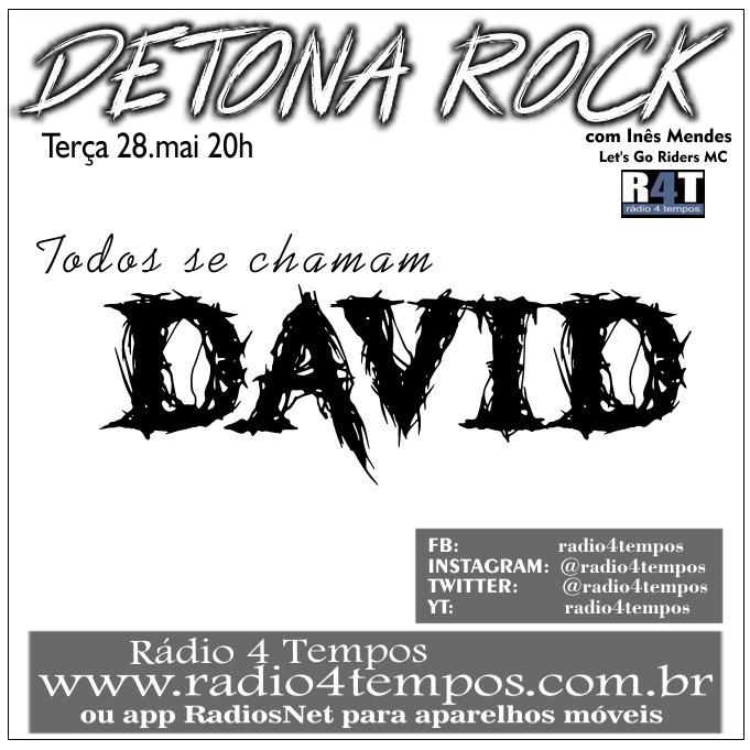 Rádio 4 Tempos - Detona Rock 13:Rádio 4 Tempos