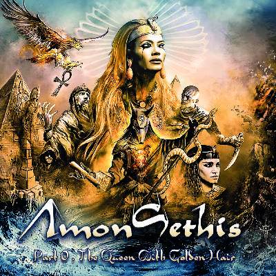 213Rock Podcast Harrag Melodica Interview with Julien of Amon Sethis New album Part 0 The Queen with Golden Hair  26 10 2020