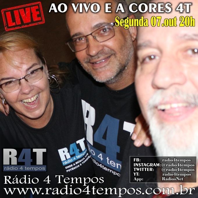 Rádio 4 Tempos - Ao Vivo E a Cores 61