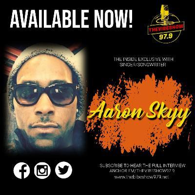 """""""Aaron Skyy"""" Singer/Songwriter"""