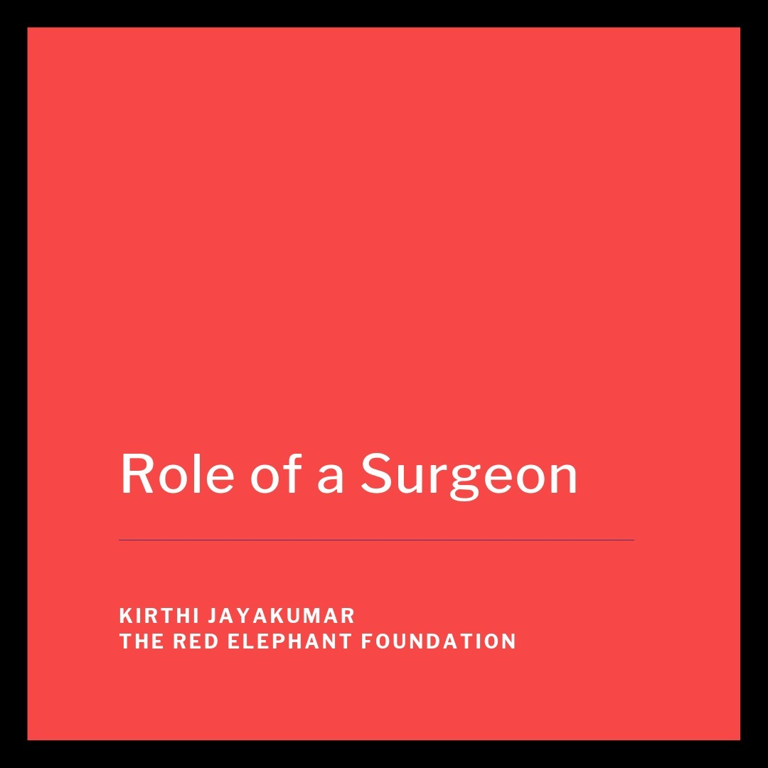 Episode 18 - Role of a Surgeon
