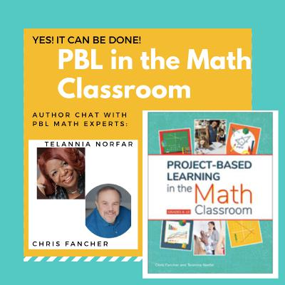 Author Chat: Project Based Learning in the Math Classroom!