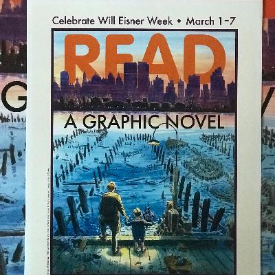 Writer Danny Fingeroth and Will Eisner Week