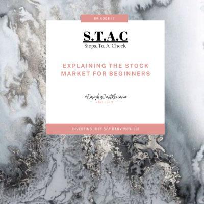 Explaining The Stock Market For Beginners! Part 1