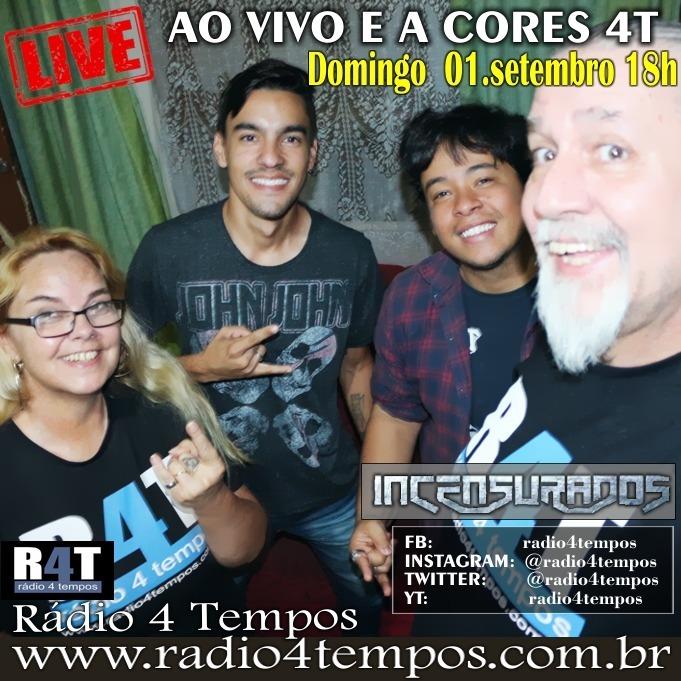 Rádio 4 Tempos - Ao Vivo E a Cores 60:Rádio 4 Tempos