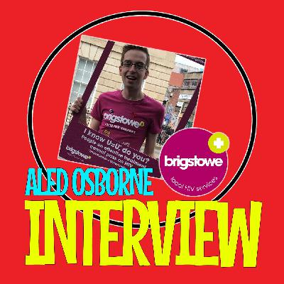 LGBT Q&A - Aled Osborne - Brigstowe HIV Charity - World Aids Day (Interview)