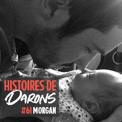 On parle paternité et handicap visuel avec Morgan