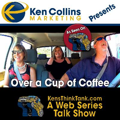 """We Talk About the New Podcast, """"Over a Cup of Coffee"""""""