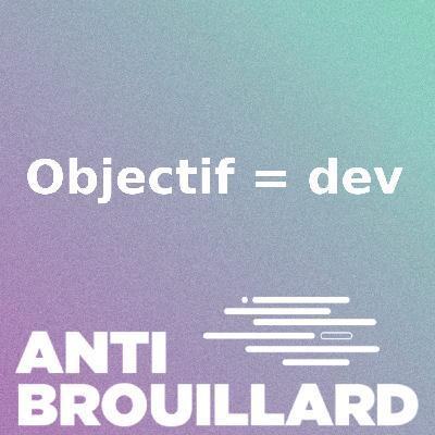 Objectif = dev #5 : J'ai terminé le bootcamp !