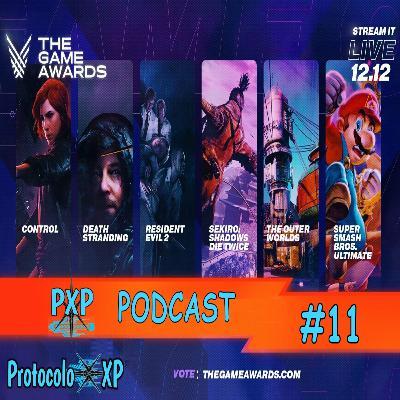 PXP PODCAST 11 - The Game Awards 2019, a lista de indicados e nossas apostas para a maior premiação do mundo dos games!