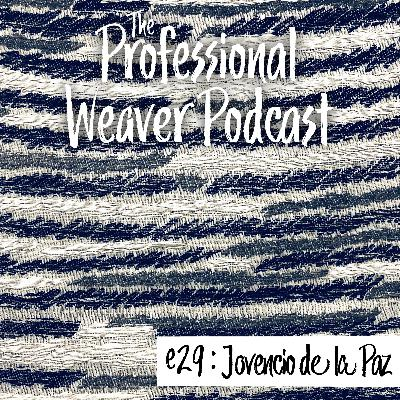 29 : Jovencio De La Paz on inspiration, using a TC2, accessibility of complex weaving, and more