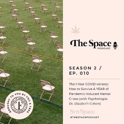THE Space #010: The 1-Year COVID-versary: How to Survive A YEAR of Pandemic-Induced Mental Crises (with Psychologist Dr. Elizabeth Cohen)