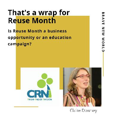 That's a wrap for Reuse Month