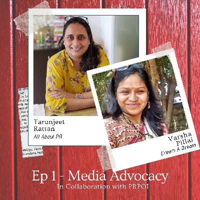 Media Advocacy with Varsha Pillai