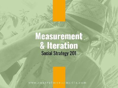 Measurement and Iteration: Social Strategy 201 (Episode 166)
