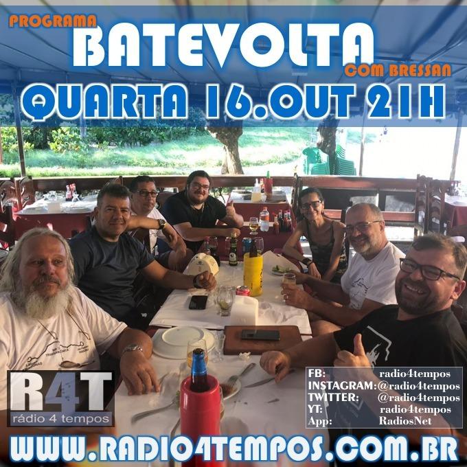 Rádio 4 Tempos - BateVolta 179:Rádio 4 Tempos