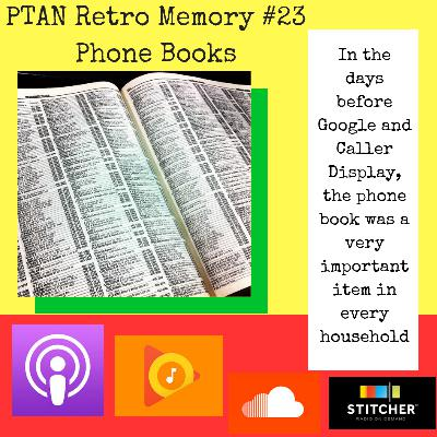 Retro Memory #23 - Phone Books