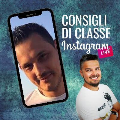 CONSIGLI DI CLASSE su Instagram Live - ospite DANIELE BIANCARDI
