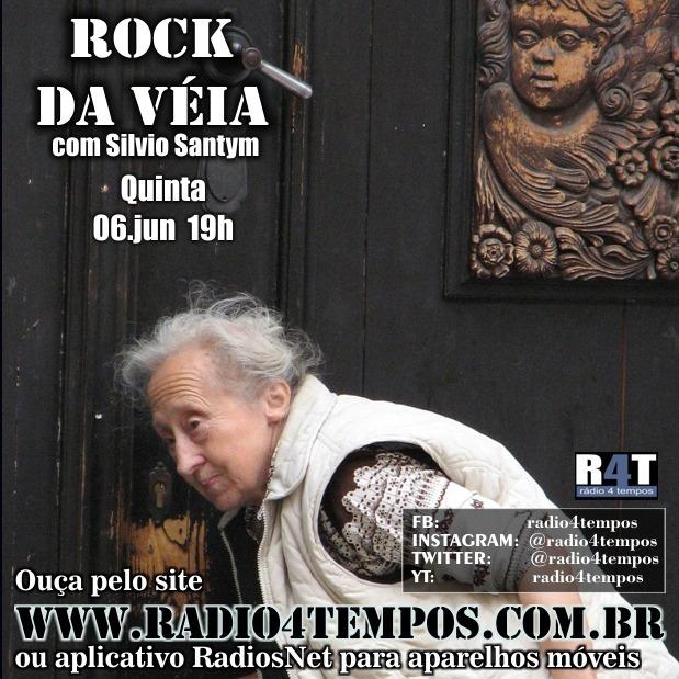 Rádio 4 Tempos - Rock da Véia 58:Rádio 4 Tempos