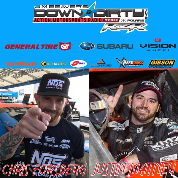 #336 Chris Forsberg & Justin Matney On Air!
