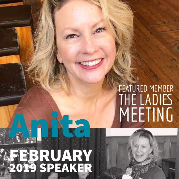 Anita Adams February Speaker