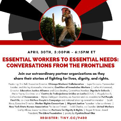 Bonus Episode! Essential Workers: Conversations from the Frontlines