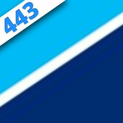 443 - Bleu