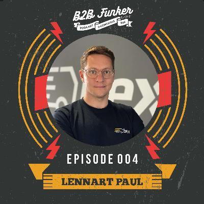 B2B #004 - Bex: Next-Level Logistik für Baustoffe und Trends im B2B Digital Commerce mit Lennart Paul