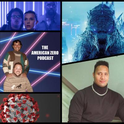 Ep. 13 The Triumphant return, Godzilla Vs Kong, and Lady bodywash