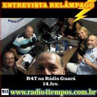 Rádio 4 Tempos - Entrevista Relâmpago 02