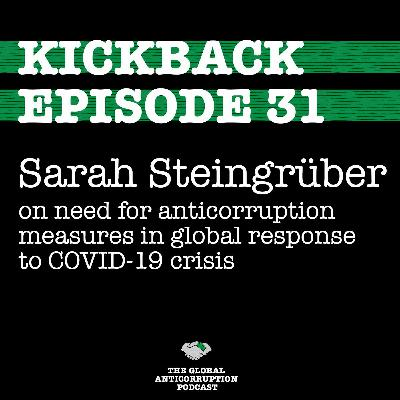 31. Sarah Steingruber on need for anticorruption measures in global response to COVID-19 crisis
