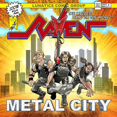 213Rock Podcast Harrag Melodica Interview with John Gallagher of Raven New album Metal City Out  Sept 18th 10 09 2020