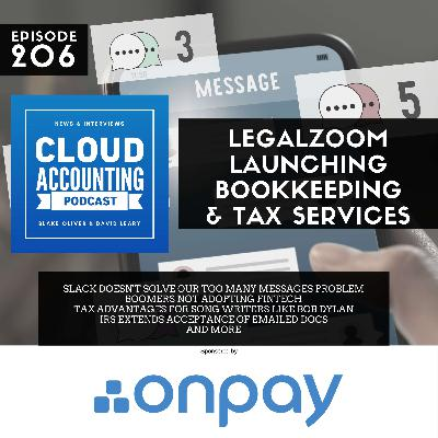 LegalZoom Launching Bookkeeping and Tax Services