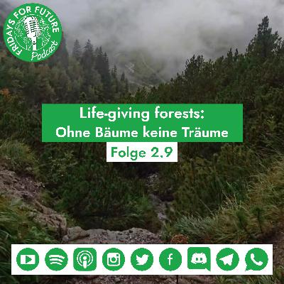2.9 | Live Giving Forests: Ohne Bäume keine Träume #Week4Climate