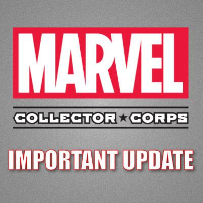 Cant Get Marvel Collector Corps