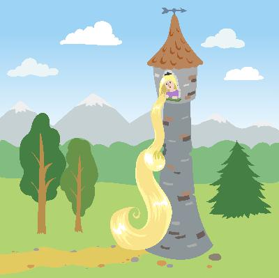 Rejoice to See How True Love Conquers All -Storytelling Podcast for Kids -Rapunzel:E105