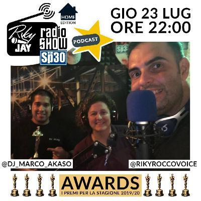 RikyJay Radio Show - #39 - AWARDS