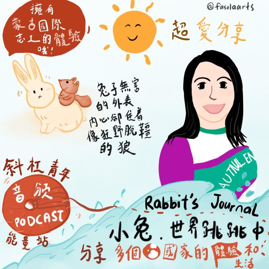 #36 人物专访-出国体验人生与生活的Rabbit