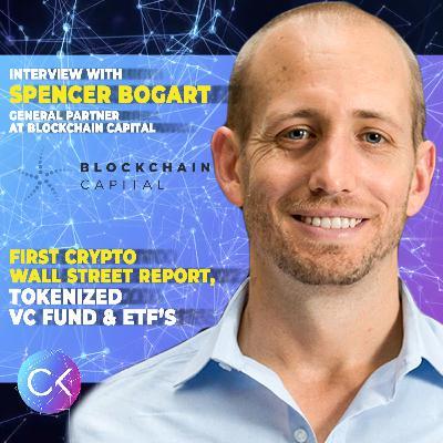 💡First Crypto Wall Street Report, Tokenized VC Fund & ETF's (w Spencer Bogart & Constantin Kogan)