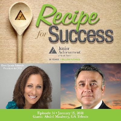Recipe for Success, Episode 14, January 15, 2020, Guest Abdol Moabery